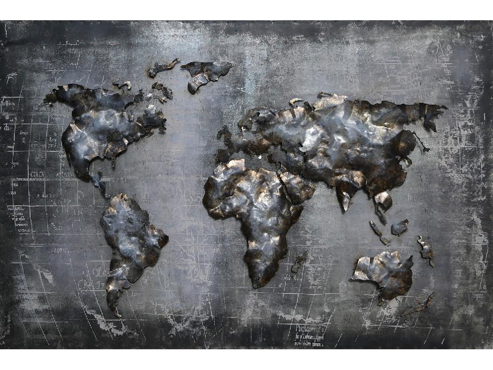 Wereld kaart 3D