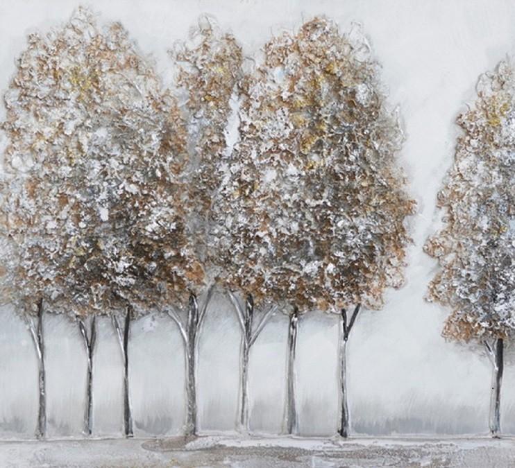 Schilderij bomen