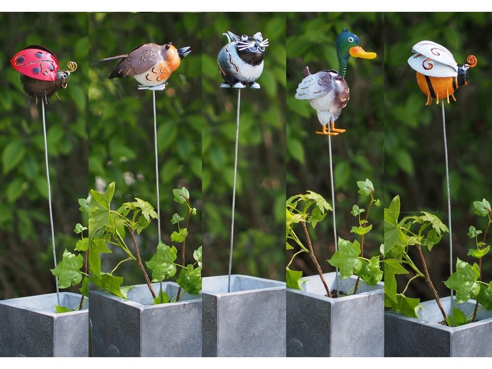 Div metalen tuinprikkers